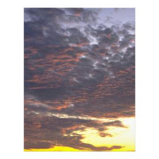Very Cloudy Sky 21.5 Cm X 28 Cm Flyer