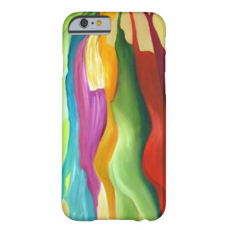 Very colorfull abstract painting. barely there iPhone 6 case