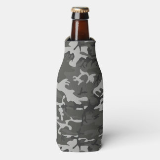 Very Cool Military Style Urban Camo Bottle Cooler
