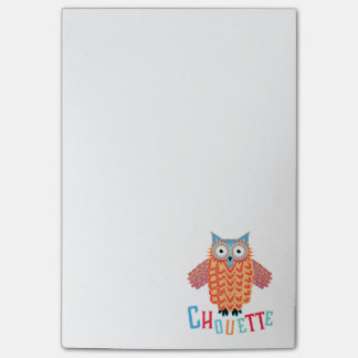 Very Cool Owl French Pun Post-it® Notes