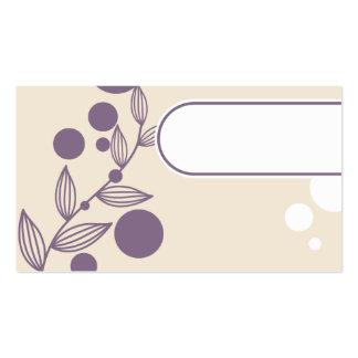 very cute business card