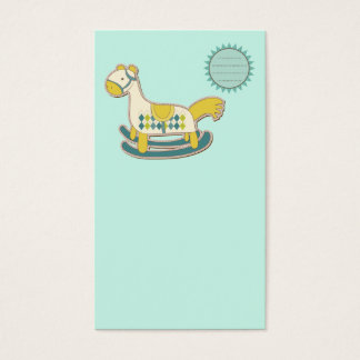 very cute children tool business card template