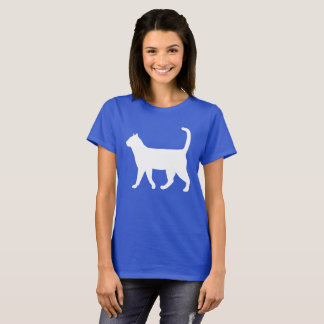 Very Cute kitty Cat Sillouhate T-Shirt