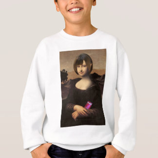 Very cute Mona Lisa Sweatshirt