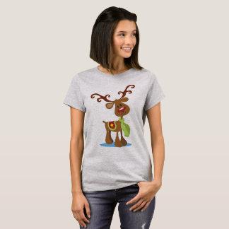 Very Cute Reindeer Christmas   Shirt