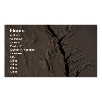Very deep Grand Canyon-like canyons Business Cards