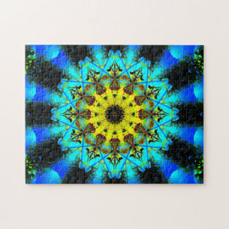 Very Detailed Star-Shaped Mandala Jigsaw Puzzle