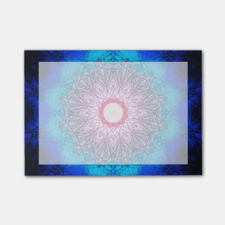 Very detailed Winter Sun Mandala Post-it® Notes