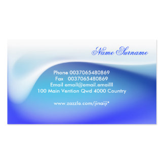 very elegant beautiful soft business cards