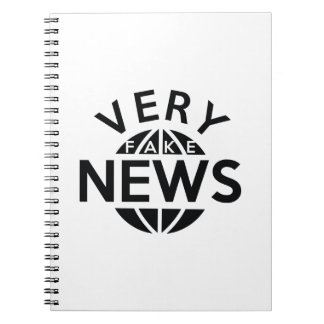 Very Fake News Notebooks