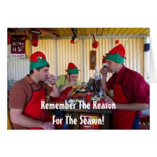 Very Fun Christmas Greeting Card! Card