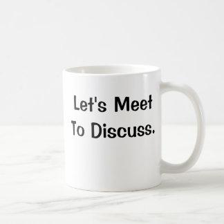 Very Funny Office Saying - I Love Meetings Coffee Mugs