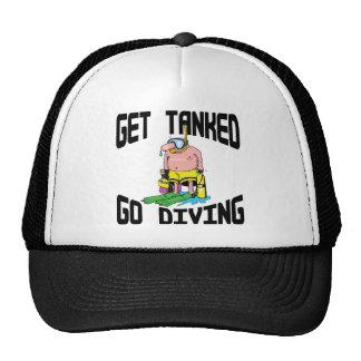 Very Funny SCUBA Diving Cap