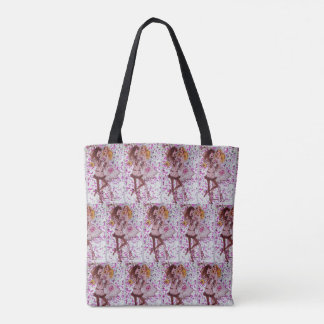 Very girly All-Over-Print Tote Bag