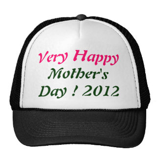 Very Happy Mother's day 2012 Mesh Hats