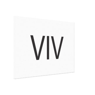 Very Important Visitor ai Gallery Wrap Canvas