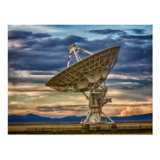 Very Large Array as sun sets Postcard