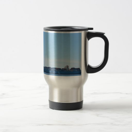 Very Large Container Ship Mug