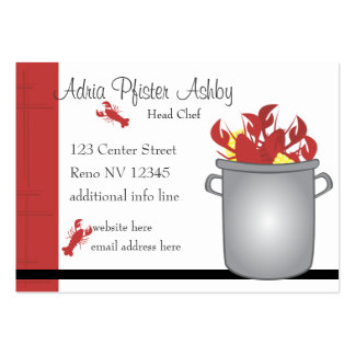 Very Lobster Business Card Template