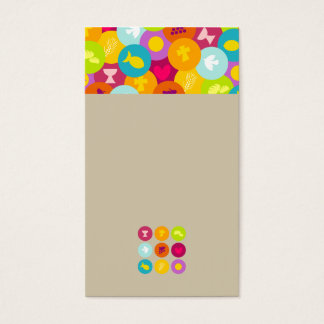 very lovely and cute style business card template