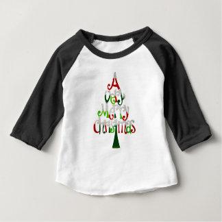 Very Merry Christmas Tree Baby T-Shirt