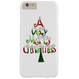 Very Merry Christmas Tree Barely There iPhone 6 Plus Case