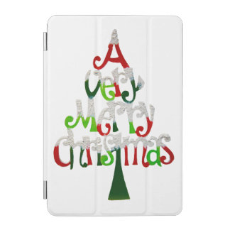 Very Merry Christmas Tree iPad Mini Cover