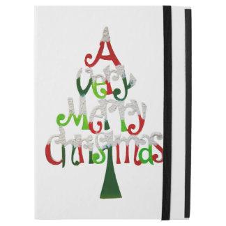 "Very Merry Christmas Tree iPad Pro 12.9"" Case"
