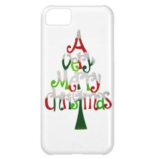 Very Merry Christmas Tree iPhone 5C Case