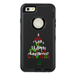Very Merry Christmas Tree OtterBox iPhone 6/6s Plus Case
