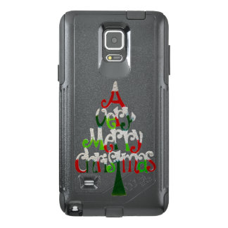 Very Merry Christmas Tree OtterBox Samsung Note 4 Case