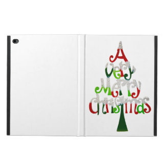 Very Merry Christmas Tree Powis iPad Air 2 Case