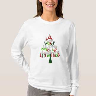 Very Merry Christmas Tree T-Shirt
