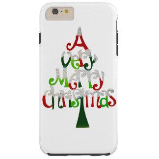 Very Merry Christmas Tree Tough iPhone 6 Plus Case