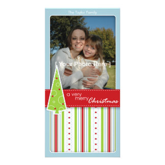 Very Merry Personalized Photo Card