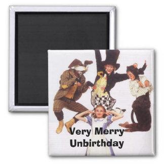 Very Merry Unbirthday Refrigerator Magnets
