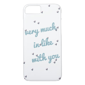 Very Much in Like With You Simple Hearts Case