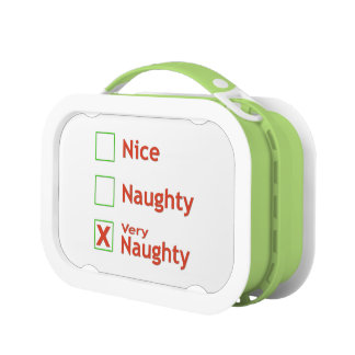 Very Naughty Lunch Box