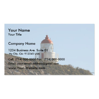 Very Old But Beautiful Light House Business Card Templates