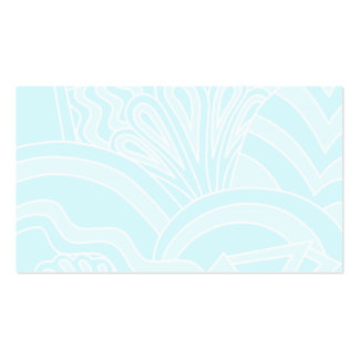 Very Pale Blue Art Deco Style Background Design. Pack Of Standard Business Cards