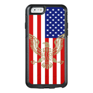 Very Patriotic God Bless America American Flag OtterBox iPhone 6/6s Case