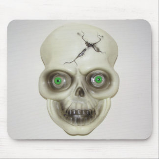Very Scary Halloween Skull Mouse Pad