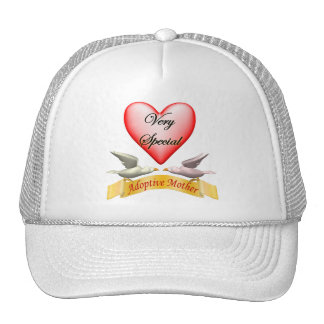 Very Special Adoptive Mother Mothers Day Gifts Trucker Hat