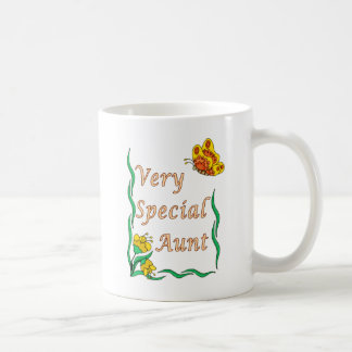 Very Special Aunt Butterfly Coffee Mug