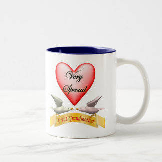 Very Special Great Grandmother Mothers Day Gifts Two-Tone Coffee Mug