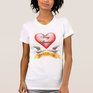 Very Special Mother-In-Law Mothers Day Gifts Tee Shirts