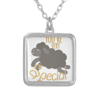Very Special Silver Plated Necklace