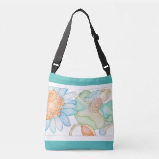 Very springy cross-body bag
