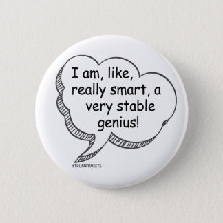 very stable genius button