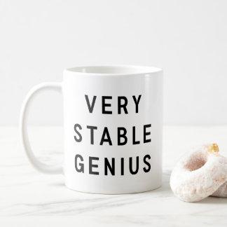 Very Stable Genius Coffee Mug